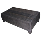 Outdoor Bay Harbor Rectangular Coffee Table - Wicker
