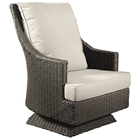 Outdoor Cabana Swivel Rocking Chair - All-Weather Wicker