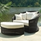 Outdoor Haven Wicker Lounge Chair - Fabric Cushion - PAD-OL-HVN03