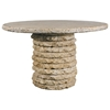 "Stone Stack 48"" Round Dining Table"