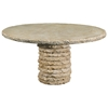 "Stone Stack 60"" Round Dining Table"