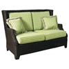 Terrace Outdoor Loveseat - Cushions, All-Weather Wicker