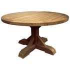 Xena Reclaimed Teak Wood Dining Table - Round