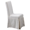 Pacific Beach Dining Chair - Sun Bleached White Slipcover - PAD-PCB12-SBW