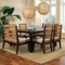 Park Avenue Dining Chair - Rattan Slats, Seat Cushion - PAD-PRK12
