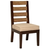 Park Avenue Dining Chair - Rattan Slats, Seat Cushion
