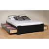 Coal Harbor Queen Mate's Platform Storage Bed
