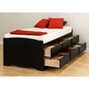 Blackbeard Twin Captain's Platform Storage Bed
