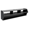 Altus Plus 58 Inch Floating TV Stand - Black