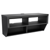 Series 9 Designer 42 Inch Wide Wall Mounted Audio Video - Black