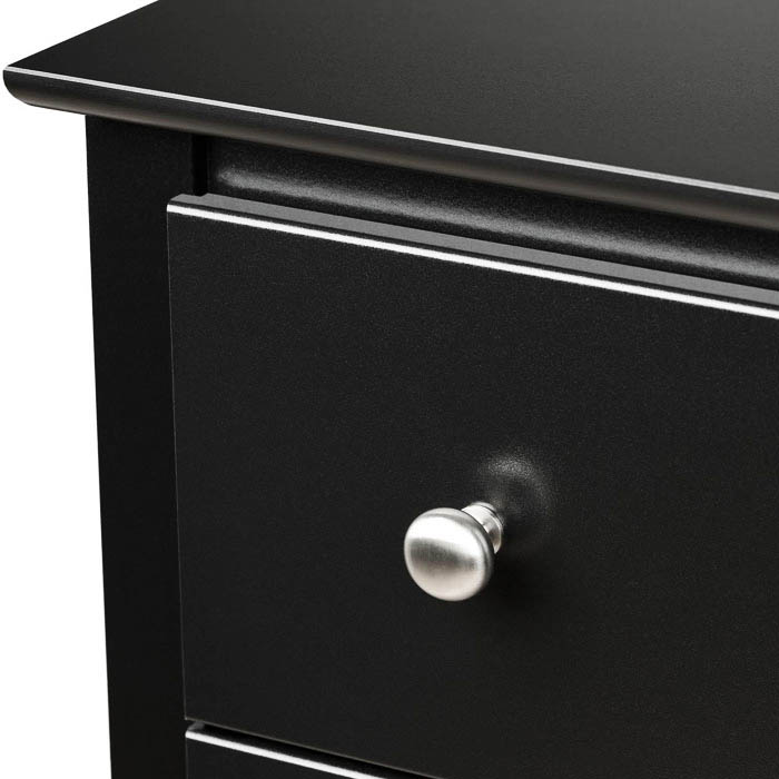 Sonoma Tall 6-Drawer Chest - Black - PRE-BDC-2354-K
