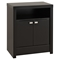 Series 9 Designer 2-Door Tall Nightstand - Black - PRE-BDNH-0502-1
