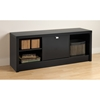 Series 9 Designer Cubbie Bench with Door - Black
