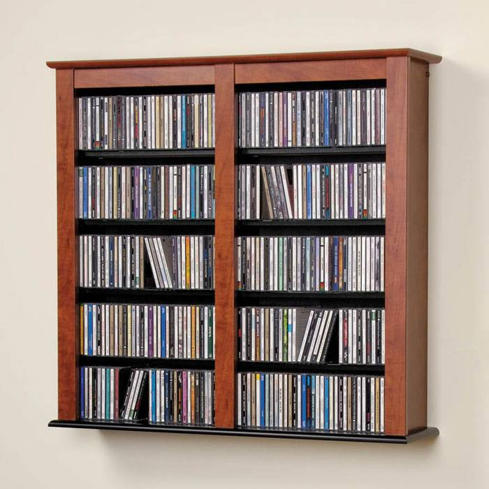 Edric Double Wall Mounted Storage - PRE-XFW-0349