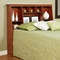 Sonoma Tall Slant-Back Full Queen Bookcase Headboard - PRE-XSH-6656