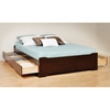 Coal Harbor Full Mate's Platform Storage Bed