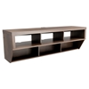 Series 9 Designer 58 Inch Wide Wall Mounted Audio Video - Espresso