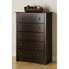 Fremont Espresso Chest with 5 Drawers