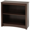 Sonoma 2-Shelf Contemporary Bookcase