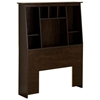 Sonoma Tall Slant-Back Twin Bookcase Headboard