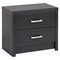 District 2-Drawer Nightstand - Washed Black - PRE-HDNR-0520-1