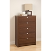 Series 9 Designer 5-Drawer Chest - Warm Cherry