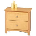 Sonoma 2-Drawer Night Stand