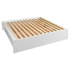 Calla King Platform Bed - Pure White