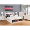 Calla Queen Platform Bedroom Set - Pure White