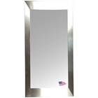 Rectangular Mirror - Stainless Silver Frame