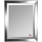 Wall Mirror - Silver Finished Frame, Beveled Glass