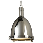 Norwich Contemporary Pendant Lamp - Chrome