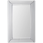 Edessa Mirror - Rectangular, Beveled, Step Frame