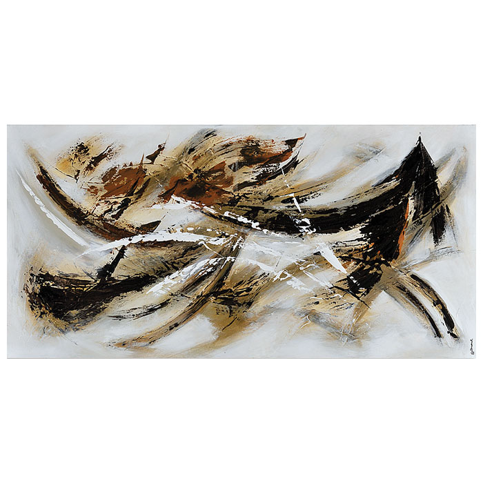 Interpretations Oil Painting - Abstract, Rectangular Canvas