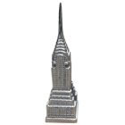 Chrysler Building Home Accent - Nickel Plated