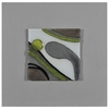Motion I Wall Art - Abstract, Molded Glass, Square