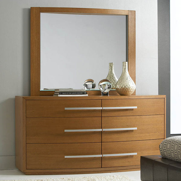 Pavo Virgola Dresser with Mirror