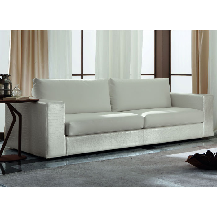 Nightfly Leather Large Sofa - ROS-R41399992X0