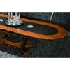 Platinum Oval Extension Table