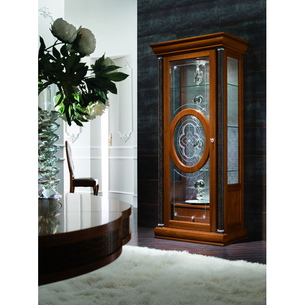 Platinum Curio with Left Door