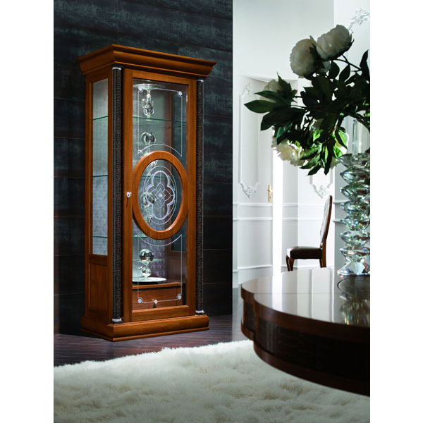 Platinum Curio with Right Door