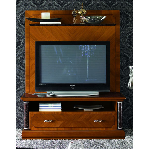 Platinum TV Unit with Back