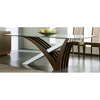 Mirage Wenge Glass Table