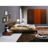 Win 4 Piece Wenge Bedroom Set with Light
