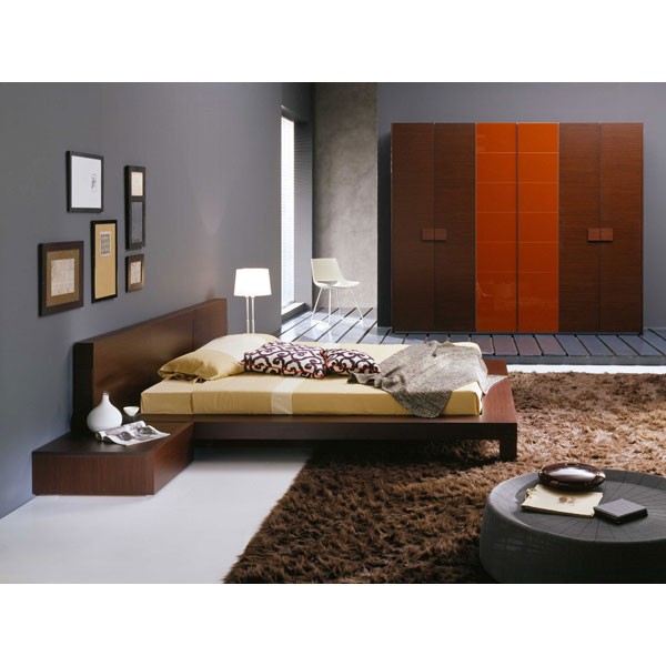 Win 4 Piece Wenge Bedroom Set