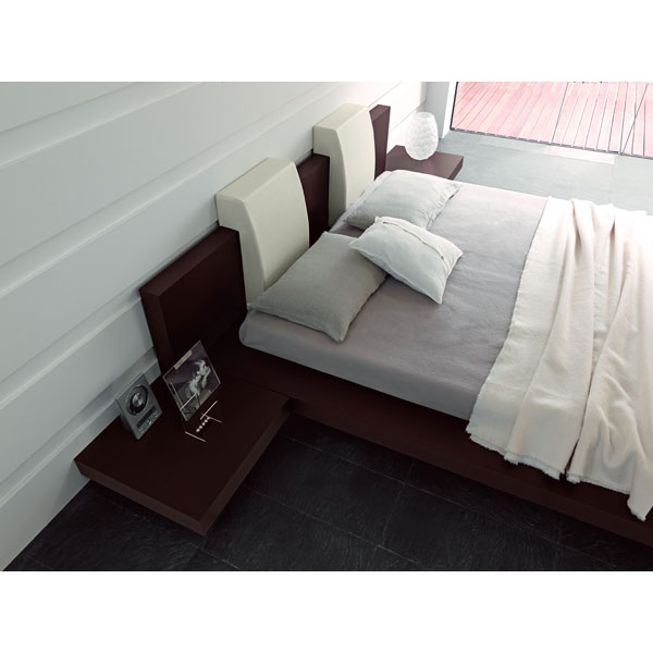 Floating Win Bed with Side Benches - ROS-T2666BBDXX206-3S