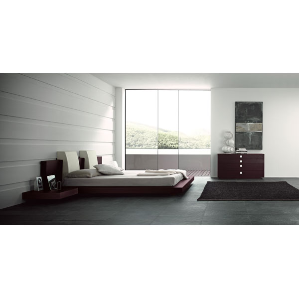 Floating Win 4 Piece Bedroom Set