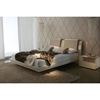 Diamond Modern Platform Bed with Nightstands