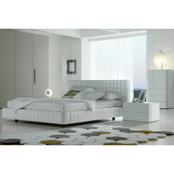 Alix Bed with Nightstands