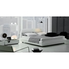 White Downtown Bed with Nightstands